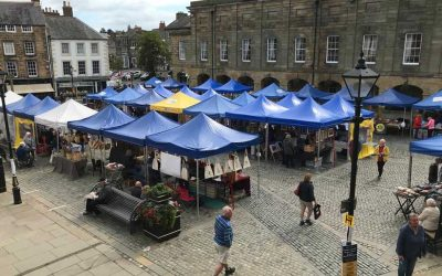 Alnwick Market's grand reopening – we're welcoming traders and shoppers back safely