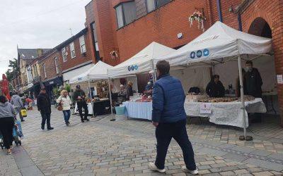 Prescot artisan market returns – first Saturday of every month