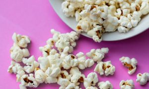 Popcorn with films for a Socially distanced Halloween