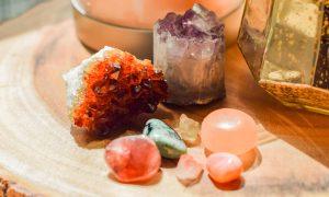 Global Entrepreneurship Week at Geraud, crystals
