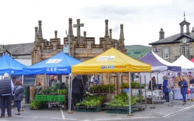 Kirkby Lonsdale Charter Market's occupancy has doubled since coming onboard with Geraud!