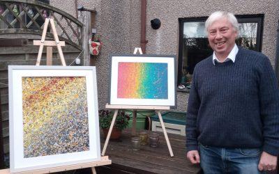 Meet Chris Pearson – exhibiting as Splosh Paintings at PromArt